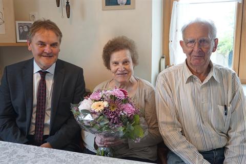 Goldene Hochzeit Heidemarie Und Anton Thier Gemeinde Bürs